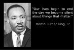 Martin Luther King on Free Speech
